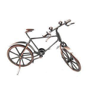 Bicicleta metal Antique miniatura vintage 19x6.5x12cm