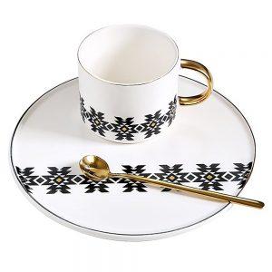 Ceasca de cafea cu farfurie Creation