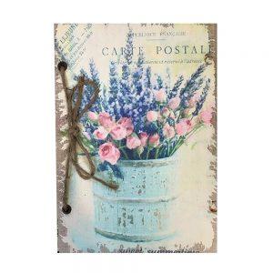 Agenda / jurnal retro Shabby Flower