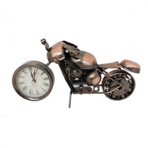 Motocicleta metal cu ceas Bandidos 20x7x10cm