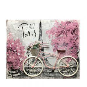 Tablou 3D Tour Eiffel 50x40cm canvas