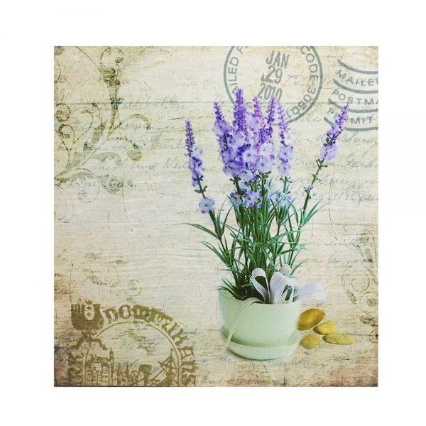 Tablou lavanda Provence 40x40cm canvas