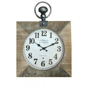 Ceas de perete Richard lemn vintage