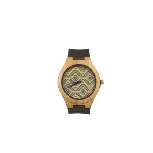 Ceas din lemn bambus Creation