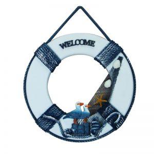 Decor marin colac salvare Navy 12cm