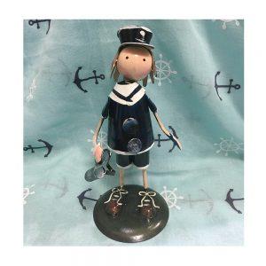 Decor marin figurina metal Popeye