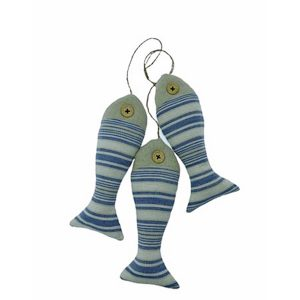 Decor marin pesti Navy textil 19cm