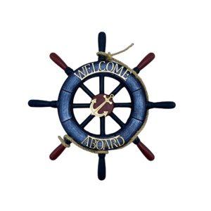 Decor marin timona Navy Welcome 31cm