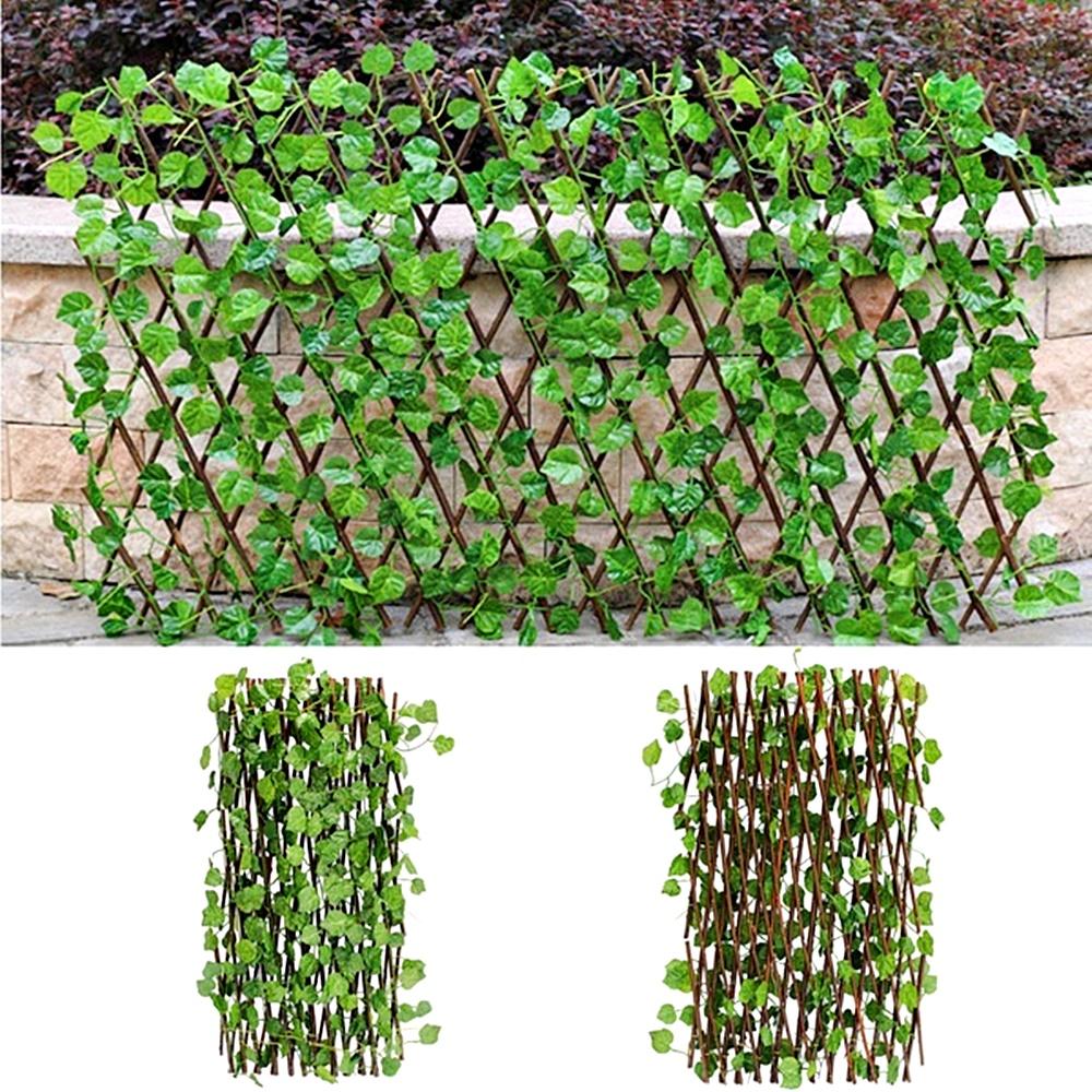 Gard artificial frunze Green Fence extensibil | Pravalia Cu Surprize