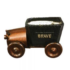 Ghiveci ceramica Vintage Car cu farfurie