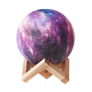 Lampa luna 3D Moonlight Touch multicolora