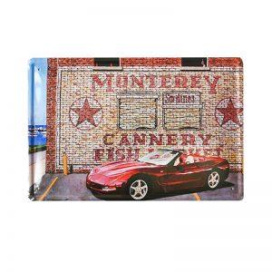 Placa metalica Monterey Graffiti poster vintage