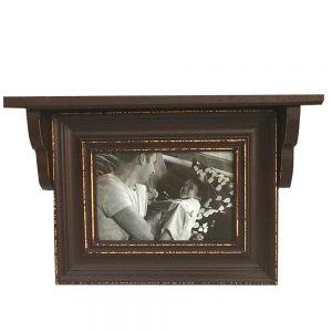Rama foto Charles 15x10cm lemn vintage