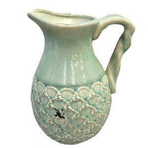 Vaza ceramica Bernadette carafa vintage 26cm