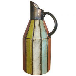 Vaza ceramica Daphne carafa vintage 31cm