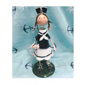 Decor marin figurina Olive metal
