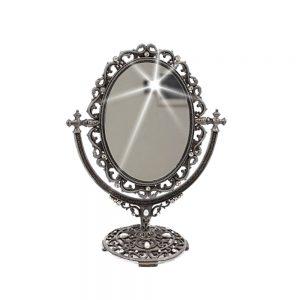 Oglinda de masa Audrey antimoniu vintage