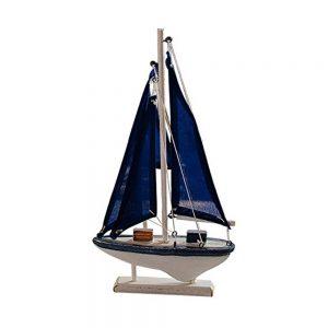 Barca lemn cu panze Bartolomeo 15x27cm