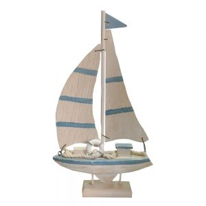 Barca lemn cu panze Columb