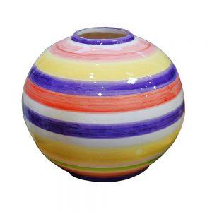 Vaza ceramica Ingrid multicolora 16cm