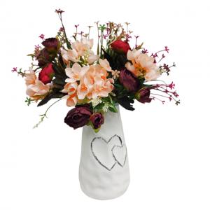 Aranjament flori Camille 40cm vaza ceramica