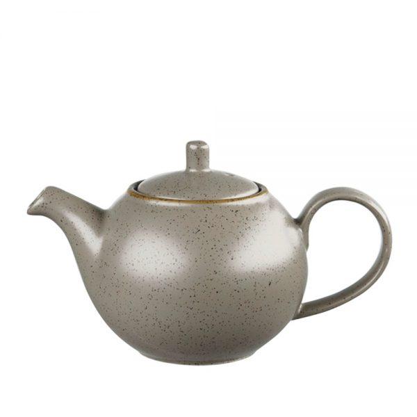 Ceainic ceramica Charles gri 420ml