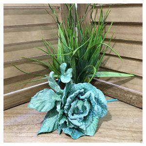 Decoratiune brad Ember trandafir bleu