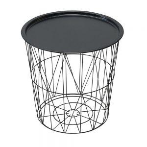 Masuta cafea Francois rotunda metal