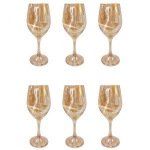 Set 6 pahare vin alb Paul 270ml