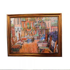 Tablou peisaj Venice Colors 32x25cm