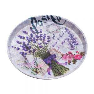 Tava rotunda Provence metal 30cm