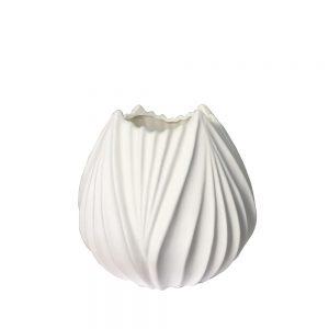 Vaza ceramica Tulipe alba 15cm