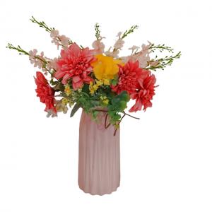 Aranjament flori Stephanie 45cm vaza ceramica