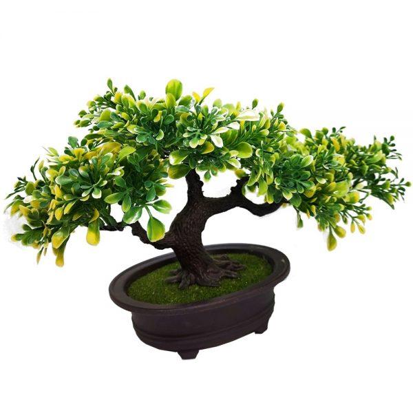 Bonsai artificial Green Ficus 20x38cm