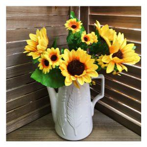 Buchet floarea soarelui artificiala Rory 30cm