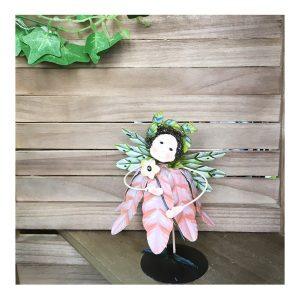 Figurina zana metal Fairy 16cm