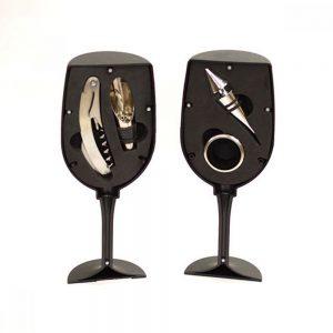 Pahar cu 4 accesorii vin Toscany