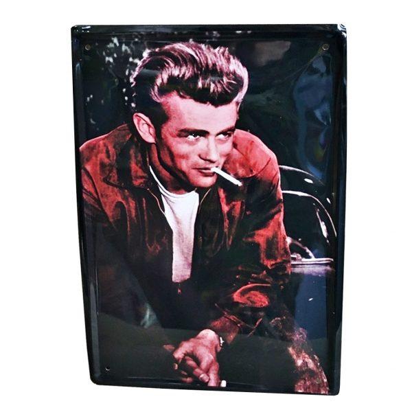 Placa metalica James Dean Jacket