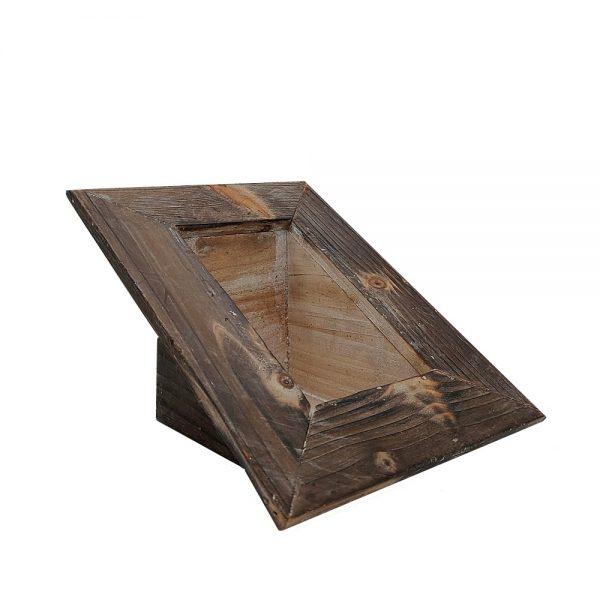 Suport flori Antique Frame lemn 20x29cm