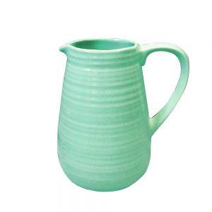 Carafa turcoaz Gretel 20cm vaza ceramica