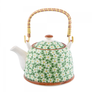 Ceainic ceramica Claire 800ml maner bambus
