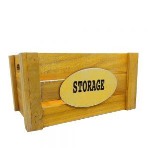 Cutie depozitare Storage lemn 24x34x18cm