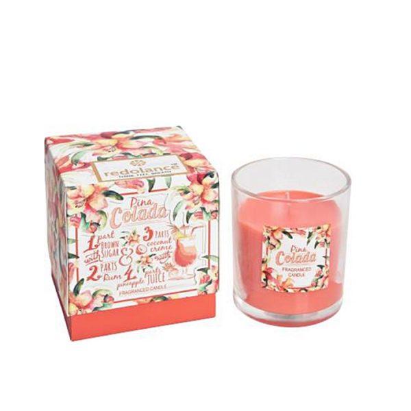 Lumanare parfumata in pahar Luxury Pina Colada