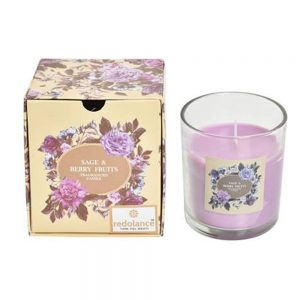 Lumanare parfumata in pahar Sage & Berry