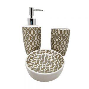 Set accesorii baie Joyful ceramica