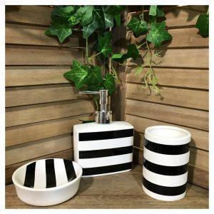 Set accesorii baie Stripes ceramica