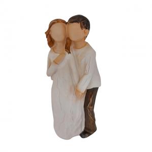 Statueta cuplu indragostiti Asking 15cm