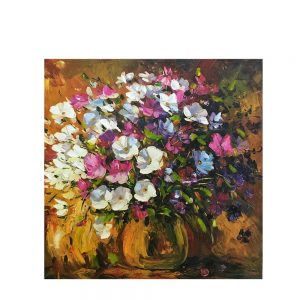 Tablou canvas Fiori In Vaso 60x60cm