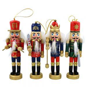 Spargator de nuci Nutcracker 12.5cm set 4 figurine
