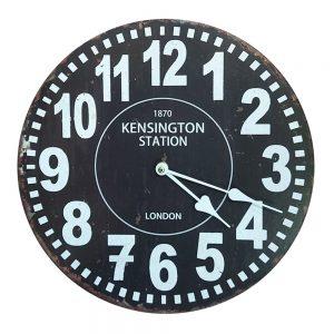 Ceas perete London negru vintage 30cm